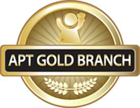 APT Gold Branch Logo